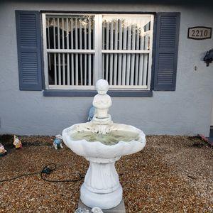 Concrete little boy fountain for Sale in Seattle, WA
