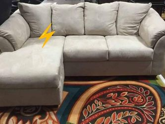 🔥39$ Down Payment🔥[SPECIAL] Darcy Stone Sofa Chaise for Sale in Reisterstown,  MD