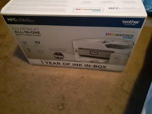 The Brother MFC-J5845DW INKvestment Tank color inkjet all-in-one printer for Sale in Rancho Cucamonga, CA