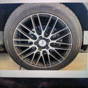 Savani Black Forza 20x8.5 Wheels & Sumitomo Tires Like New for Sale in McLean, VA