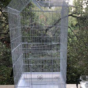 Flight Cage For Birds With Accessories for Sale in El Sobrante, CA