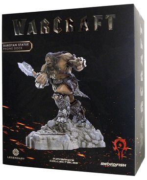 Warcraft - DUROTAN - Statue/Phone Charging Dock for Sale in Los Angeles, CA