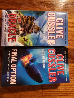 Clive Cussler Paperback Books $3 each for Sale in Portland, OR