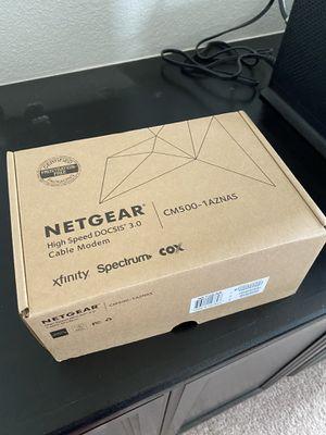 Netgear DOCUS 3.0 Cable Modem CM500 for Sale in Elk Grove, CA
