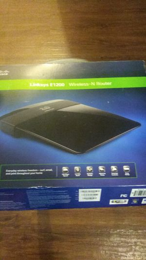 ****LINKSYS E1200 WIRELESS ROUTER*** for Sale in Brentwood, NY