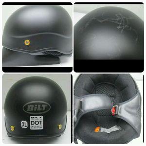 Bilt old skool motorcycle helmet for Sale in Philadelphia, PA