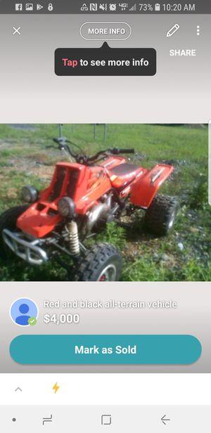 Banchee four wheeler for Sale in Harrisonburg, VA