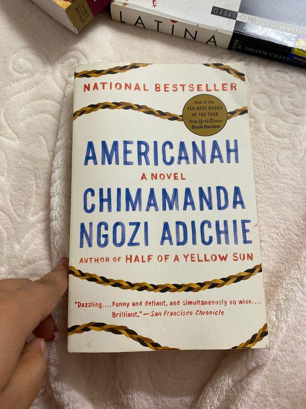 Americanas a novel by Chimamanda ngozi adichie book
