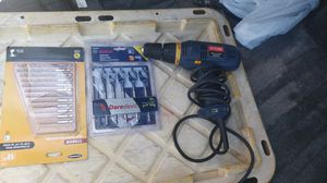 Drill works great Drill bits new Only $30 for all 3 for Sale in Spring Valley, CA