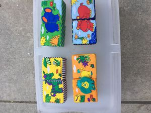 Discovery Toys kids magnetic animals blocks for Sale in Rancho Cucamonga, CA