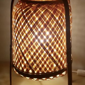 IKEA Bamboo Woven Table Lamp for Sale in Miami, FL