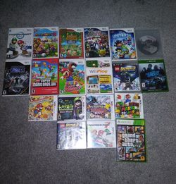 Lot of Nintendo Wii GameCube 3DS PS3 Games for Sale in Frederick,  MD
