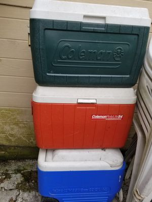 Coleman cooler for Sale in Aspen Hill, MD