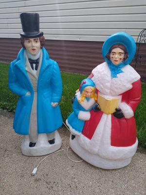 Set Xmas blow molds for Sale in Oak Lawn, IL