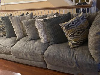 Grey sectional for Sale in Philadelphia,  PA