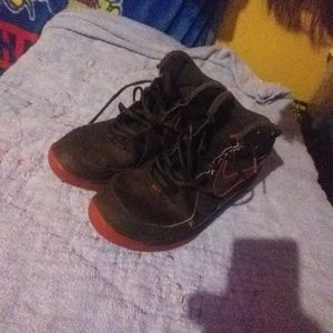 Black And Red Nike Shoes Size 12 for Sale in Hutchinson, KS