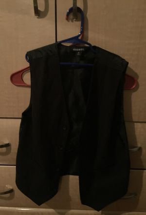 Black George Vest for Kids (12) for Sale in Manassas, VA
