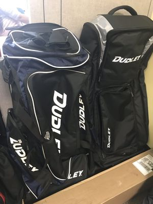 Dudley wheeled baseball softball bat bags for Sale in Miami, FL