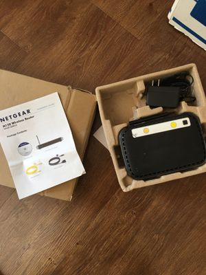 Netgear wireless router for Sale in Seattle, WA