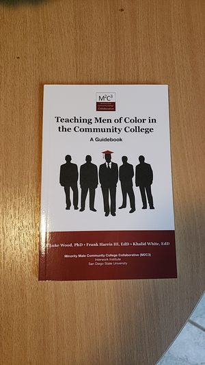 Teaching men of color in the community college for Sale in Fresno, CA