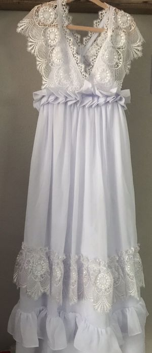 Princess flower girl dress/ A-line frame for Sale in Concord, CA