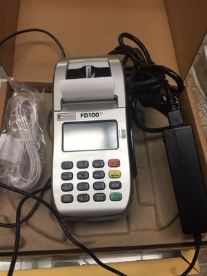 First Data Fd100Ti credit card machine for Sale in Durham, NC