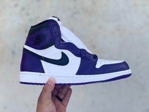 "Air Jordan 1 ""court purple"" for Sale in Odessa, TX"