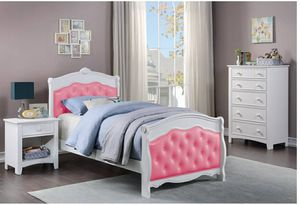 TWIN BED MATTRES NOT INCLUIDED NEW IN BOX FINANCIAMIENTO DISPONIBLE for Sale in Santa Ana, CA