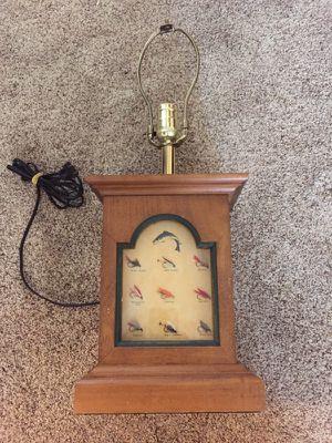 Vintage LL Bean fly fishing desk lamp for Sale in Seattle, WA