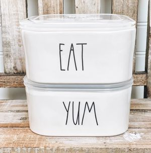 Rae Dunn Food Storage Containers for Sale in Brooklyn, NY