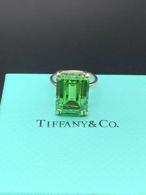 Tiffany & Co Green Quartz Sparkler Ring for Sale in Edgewater, NJ