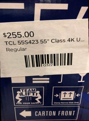 "55"" TCL Roku Tv❗️ N for Sale in Colton, CA"