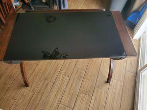 Glass/Wood Desk for Sale in Magna, UT
