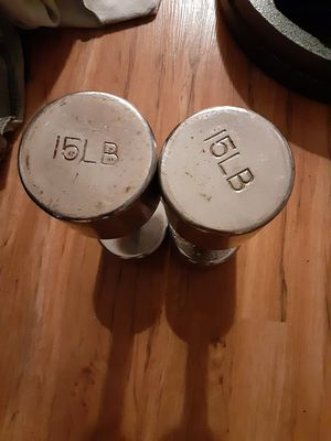 15 lb dumbbells for Sale in San Diego, CA