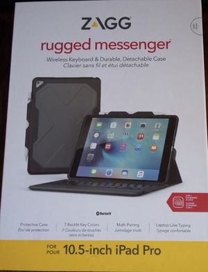 ZAGG rugged messenger iPad Pro for Sale in Wichita, KS