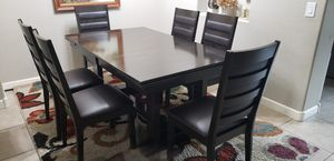Dining Table with 6 chairs. for Sale in Phoenix, AZ