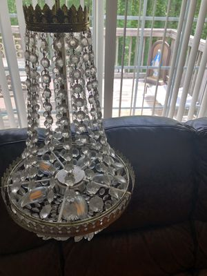 Crystal chandelier for Sale in Lake Ridge, VA