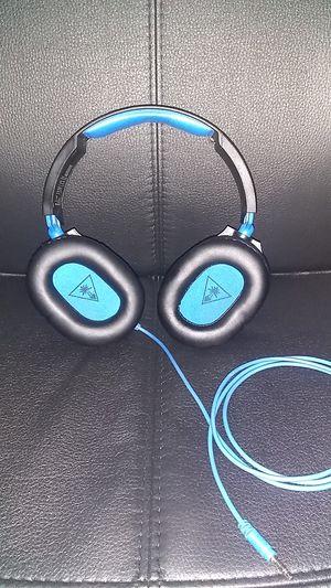 PS4 Turtle Beach Recon 70 (Gaming headphones with flip mic) for Sale in Atlanta, GA