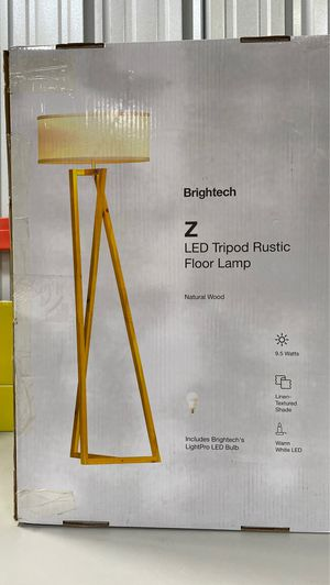 Brightech Z LED Tripod Rustic Floor Lamp for Sale in Long Beach, CA