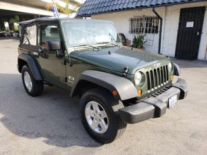 2008 Jeep Wrangler X 104,000 miles like new financing and warranty available for Sale in Los Angeles, CA