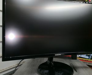 Curved Samsung Monitor for Sale in Vancouver, WA