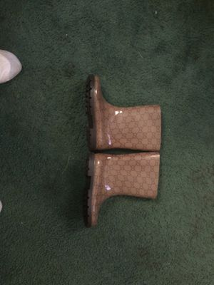 Authentic Gucci Kids Rain Boots for Sale in Washington, DC