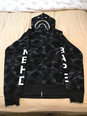 Bape nhbd shark hoodie for Sale in Beverly Hills, CA