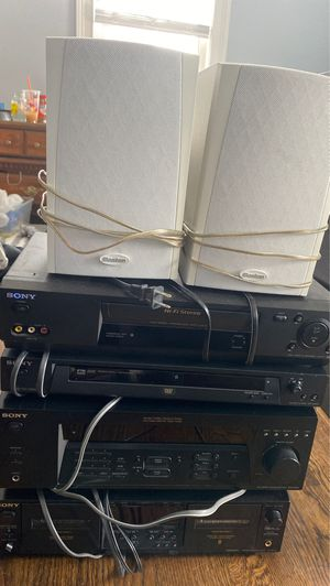Sony equipment and Boston speakers for Sale in Braintree, MA