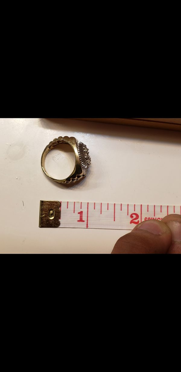 Gold ring 14k 14kt