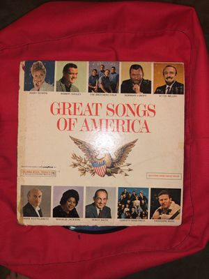 Record: great songs of america for Sale in Arlington, VA