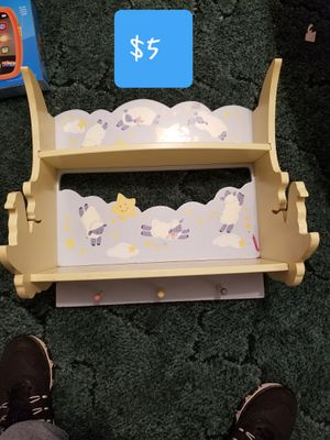 Shelf for kids room for Sale in Grover, NC
