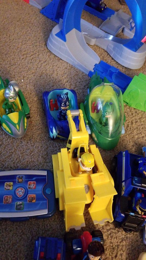 Paw patrol & PJ mask bundle