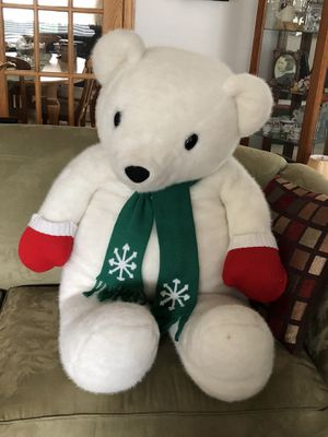 Large stuffed bear about 3 1/2 foot tall for Sale in Downers Grove, IL
