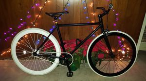 "Black/White Authentic ""Pure Fix"" Cycles Single Speed Fixie Bike Small/Medium Size 50 In Excellent Condition 10/10. for Sale in ROWLAND HGHTS, CA"